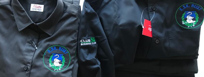 borduren logo op hemd