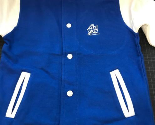 Bomber vest borduring