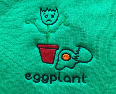 logo borduren op shirt
