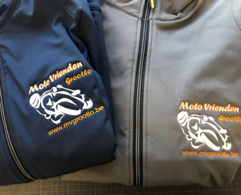 borduren jasjes motoclub