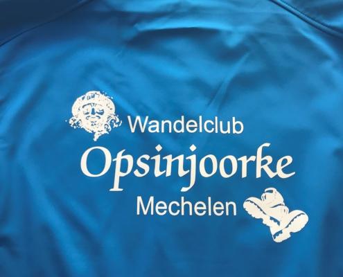 Transfer bedrukking softshell shirt